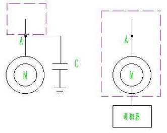 进相器补偿回路与电容补偿回路比较.png