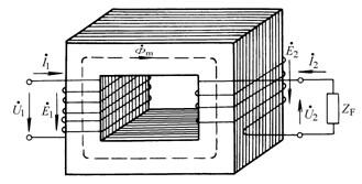 变压器参数物理量方向图