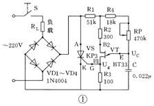 晶闸管调压器电路图