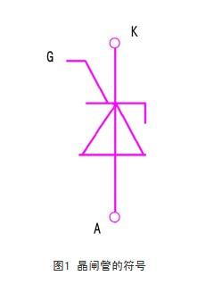 晶闸管的符号