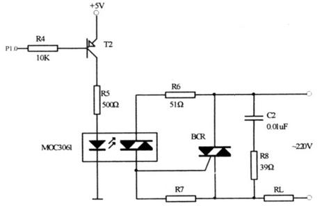可控硅过零触发电路
